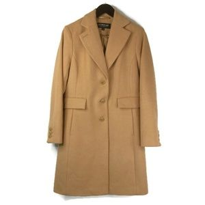 Kristen Blake Womens Size 8 Walking Overcoat